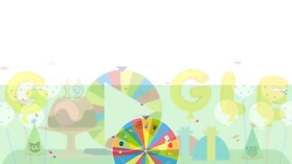 На рождения си ден Google подготви игри изненади за потребителите си