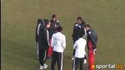 Бразилците от Цска и Литекс на раздумка преди мача в Ловеч