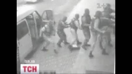 Забавлението на украинската жандармерия - Омон Беркут