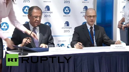 Russia: Rosatom sign deal deepening cooperation with Moscow