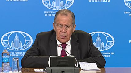 Russia: Lavrov talks US withdrawal from Syria and calls on Japan to recognise outcome of WWII