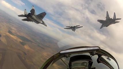 """Наслади се на Полета - Gopro - Авиошоу - """" Това сме ние """" 102г Български Ввс ( Full Hd )"""