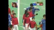 Серезо Осака (11) срещу 100 (деца) Голям смях!!!