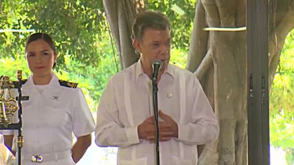 Colombia: Santos kicks off historic peace agreement with FARC
