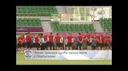 Чехия тренира дузпи преди мача с Португалия