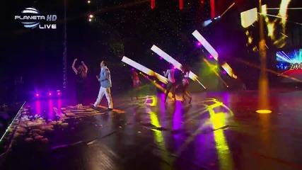 Live !! Емилия ft. Avi Benedi - Кой ще му каже (boi Tegali Li) || 12 Godishni Nagradi Za 2013