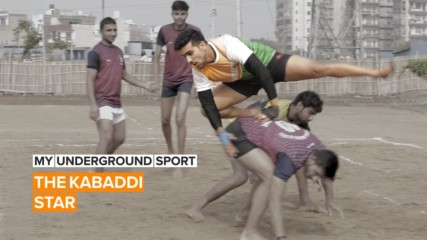 My Underground Sport: Kabaddi's growing in India