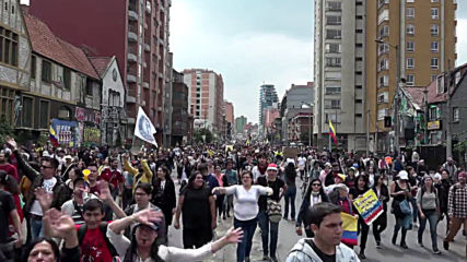 Colombia: Artists and musicians back protest movement