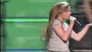 Miley Cyrus - Fly On The Wall (live At Kids Inagural )