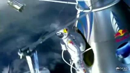 Феликс Баумгартнер да скачам с парашут от космоса