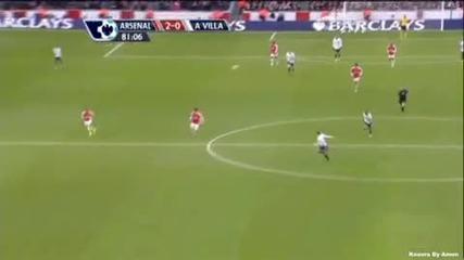 Арсенал - Астън Вила 2:0