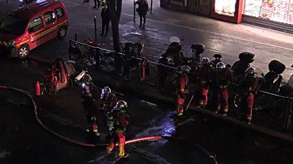 France: Firefighters battle blaze near Paris' Gare de Lyon station