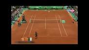 Роджър Федерер постигна 51 побена на Ролан Гарос и продължава напред след победа над Адриан Унгур