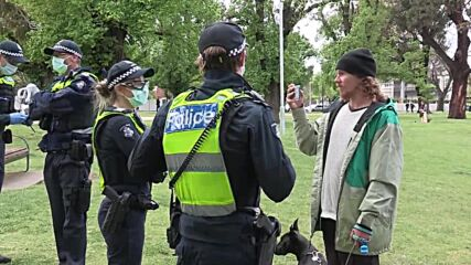 Australia: Heavy police presence in Melbourne in anticipation of anti-vaccine mandate protests