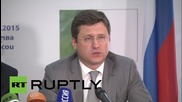 Russia: EnMin Novak touts joint Russian-Algerian oil and gas projects