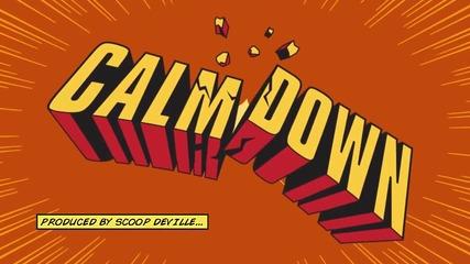 Hoво официално лирик видео Eminem ft. Busta Rhymes - Calm Down