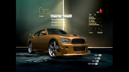 Nfs Undercover my Dodge Charger