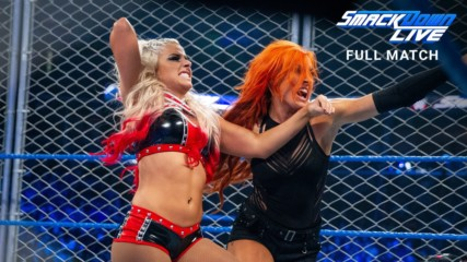 Becky Lynch vs. Alexa Bliss - SmackDown Women's Title Steel Cage Match: SmackDown LIVE, Jan. 17, 2017 (Full Match - WWE