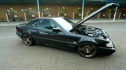 Mercedes-benz Sl с двигател от Toyota Supra