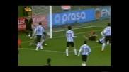 World Cup 2010 Аржентина - Германия 0 4..