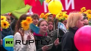 Russia: Trade unions hold massive May Day rally in Red Square