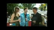 Mtv Movie Awards 2010: Nicola Peltz Jackson Rathbone - Red Carpet Interview