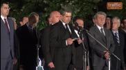 5-минутната заря за Съединението в Пловдив и силната реч на президента