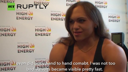 Do You Even Lift Bro? Massive Natalia Trukhina Will Put Your Biceps to Shame