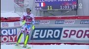 Салто слалом в изпълнение на френският алпиец Жулиен Лизеру от 22.03.2015