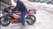 Zx9r on ice