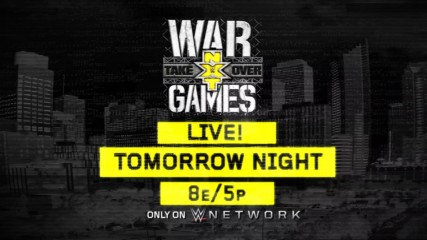 The biggest NXT TakeOver ever - Tomorrow on WWE Network