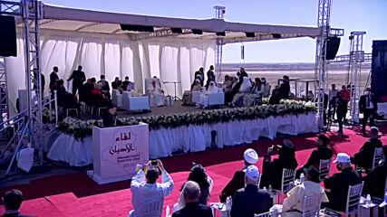 Iraq: Pope Francis arrives in Nasiriyah for inter-religious prayer