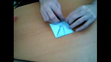 Как Да Си Направим Оригами Водна Лилия!!