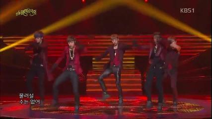 B. A. P - Candy & Don't Leave Me Cover + One Shot @ K B S Open Concert (31.03.13)