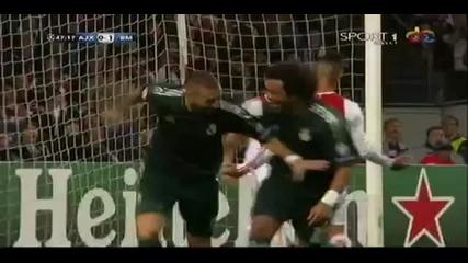 Аякс 1-4 Реал Мадрид / Karim Benzema!!!
