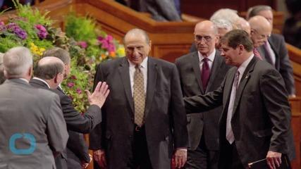 Mormon Leaders Reaffirm Faith's Exclusive Commitment to Heterosexual Marriage