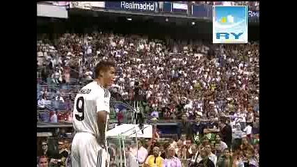 Официалното представяне на Кристиано Роналдо в Реал Мадрид