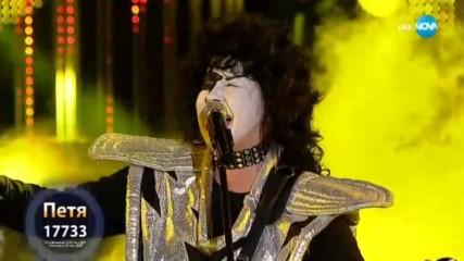 Петя Буюклиева като Kiss - ''I Was Made For Lovin' You'' | Като две капки вода
