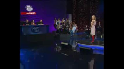 Мusic Idol 3 Ели Раданова на Малките концерти