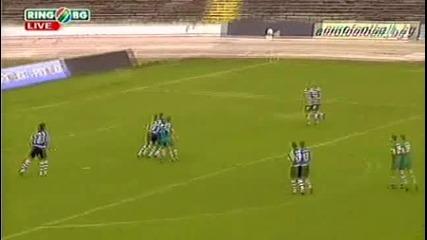 Рядко красив гол в А група повали Черно море в двубоя с Пирин които завърши 0:1