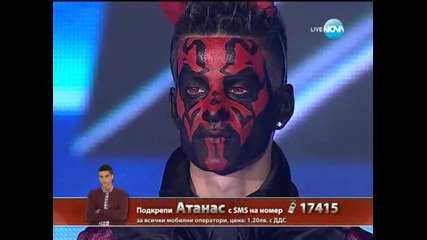 Halloween вечер с Атанас Колев X Factor (31.10.13)