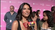 "Olivia Munn Gushes over Boyfriend Aaron Rodgers Saying He's ""Different"""