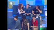 Music Idol 2: Ясен ще пее с фолк певицата Анелия 17.04.2008 *HQ*