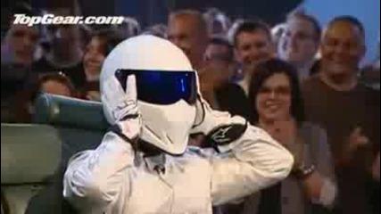 !!! Стиг От Top Gear Сваля Каската Си !!!