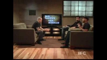 Интервю със Серж Танкиан И Том Морело Част.2