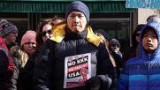 USA: Counter-protest blocks 'hoax' white supremacist march in Princeton
