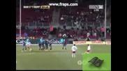 Барселона 4:1 Нумансия Баркеро супер гол 24.01