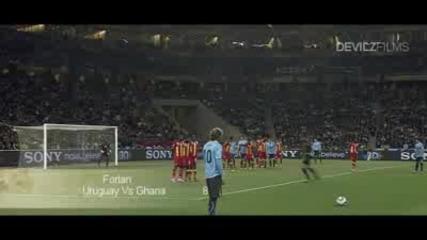 Топ 10 брутални гола на World cup 2010