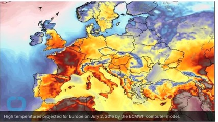 First Big Heat Wave Of Summer To Grip Spain, France and UK