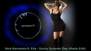 Nick Kamarera ft. Eila - Sunny Summer Day ( Radio Edit )